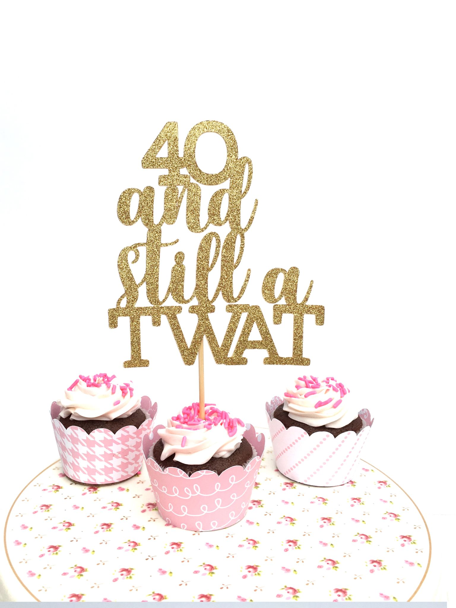 Pin on Rude cake toppers