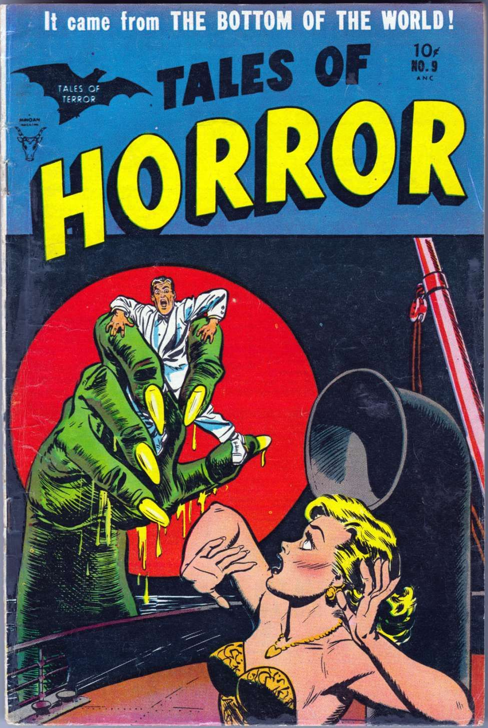 Horror Book Cover Ideas ~ Comic book cover for tales of horror and sci