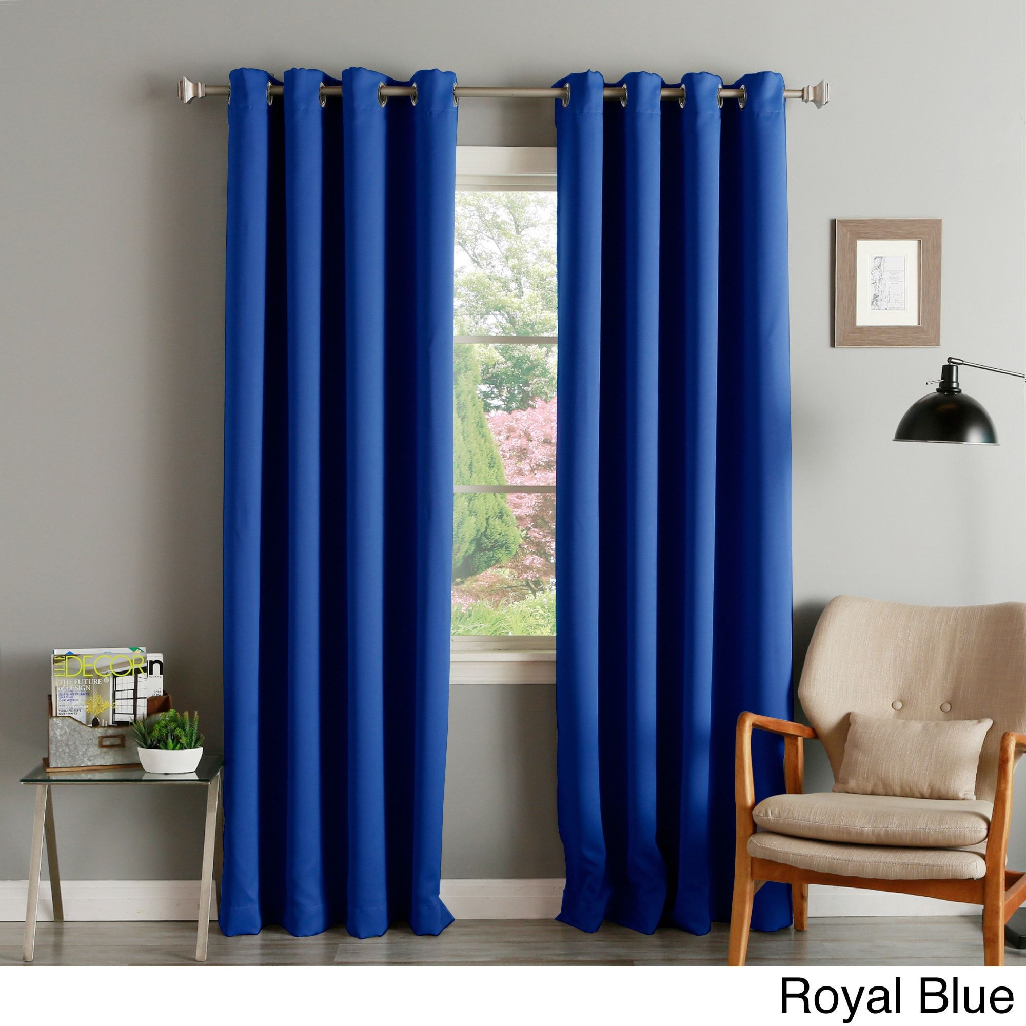 New 96 Inch Long Blackout Curtains