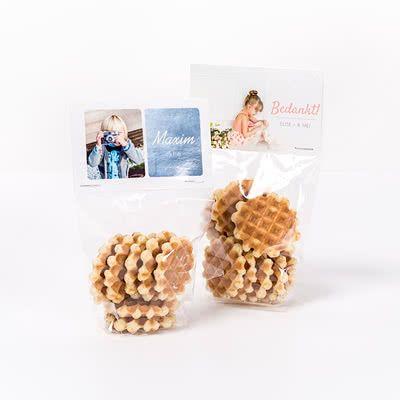 Snoepzakjes maken met foto #diy #communie
