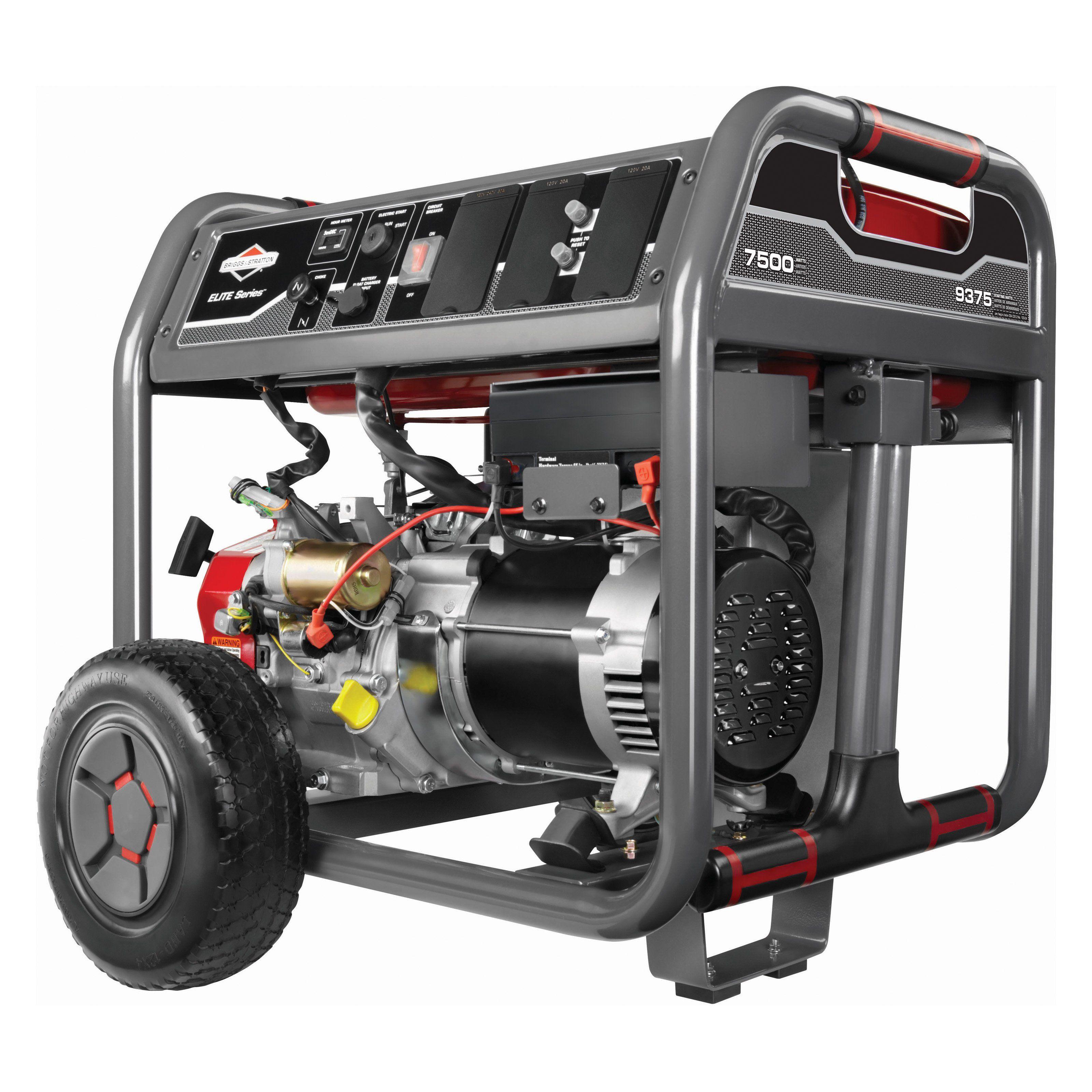 Briggs & Stratton Elite Series 7500 Watt Gas Powered Portable