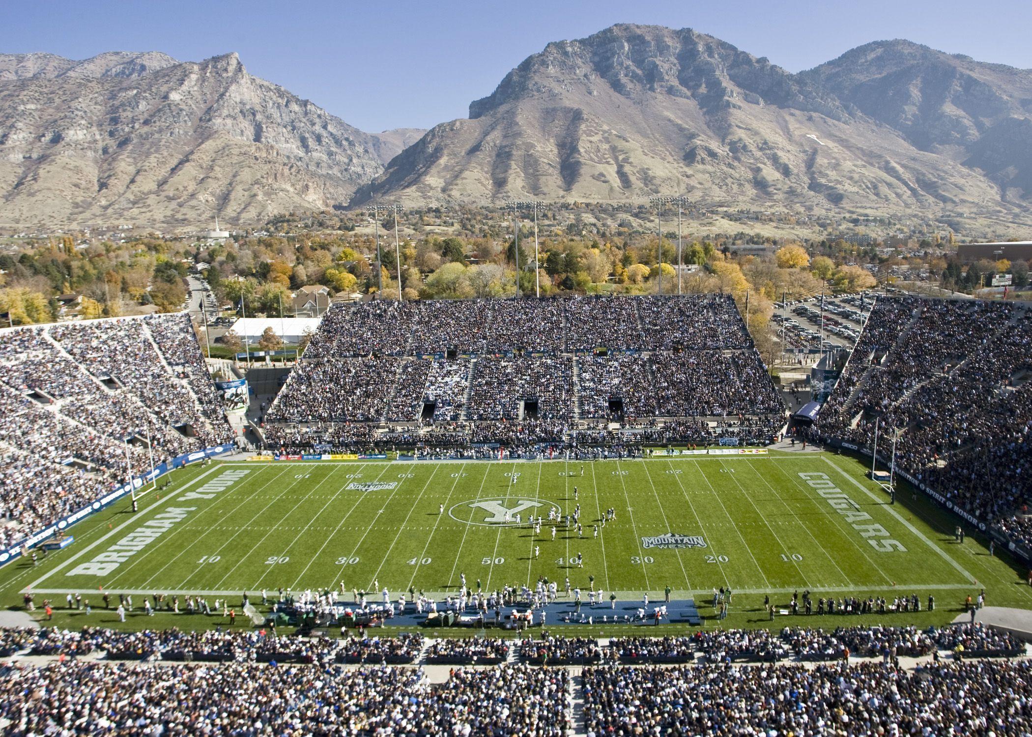 college football stadiums | Unique College Football Stadiums