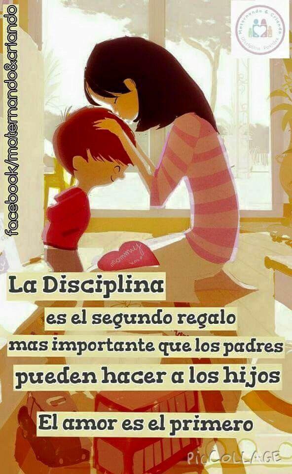 Llénalos de amor pero no olvides disciplinarlos!! Creo que como madre lo más difícil es tener que regañar a mis hijos pero es mi responsabilidad hacer todo lo posible en casa para que sean niños de bien!
