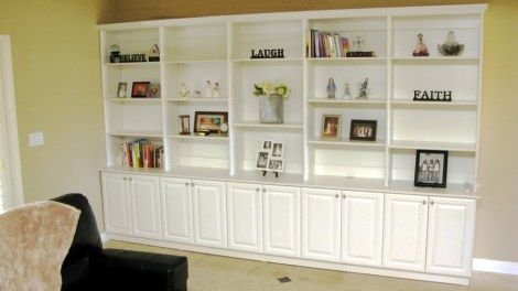 Traditional White Bookshelves Dream Office Ikea Dining Room