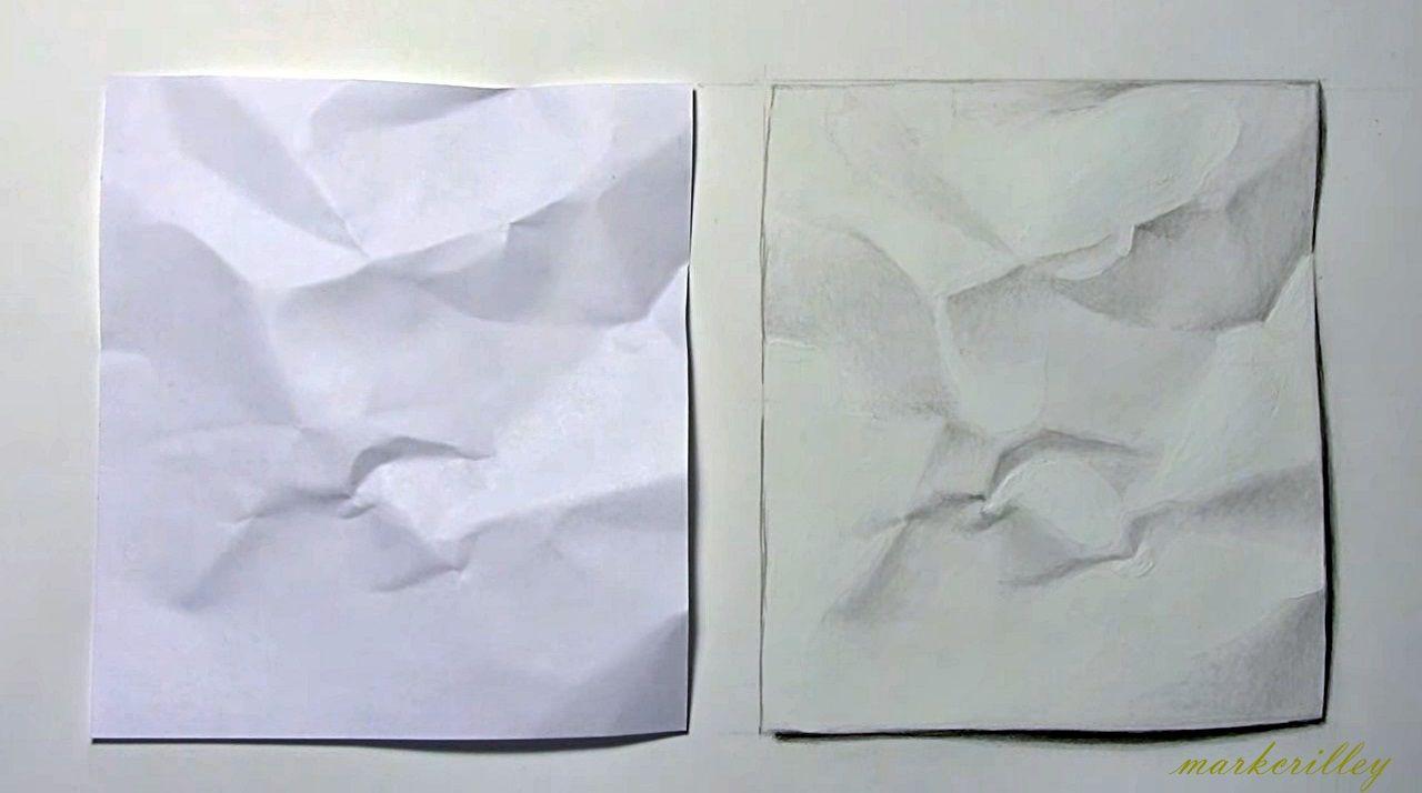 Realismo Hoja De Papel Arrugado Crumpled Paper Realism Ghost Books