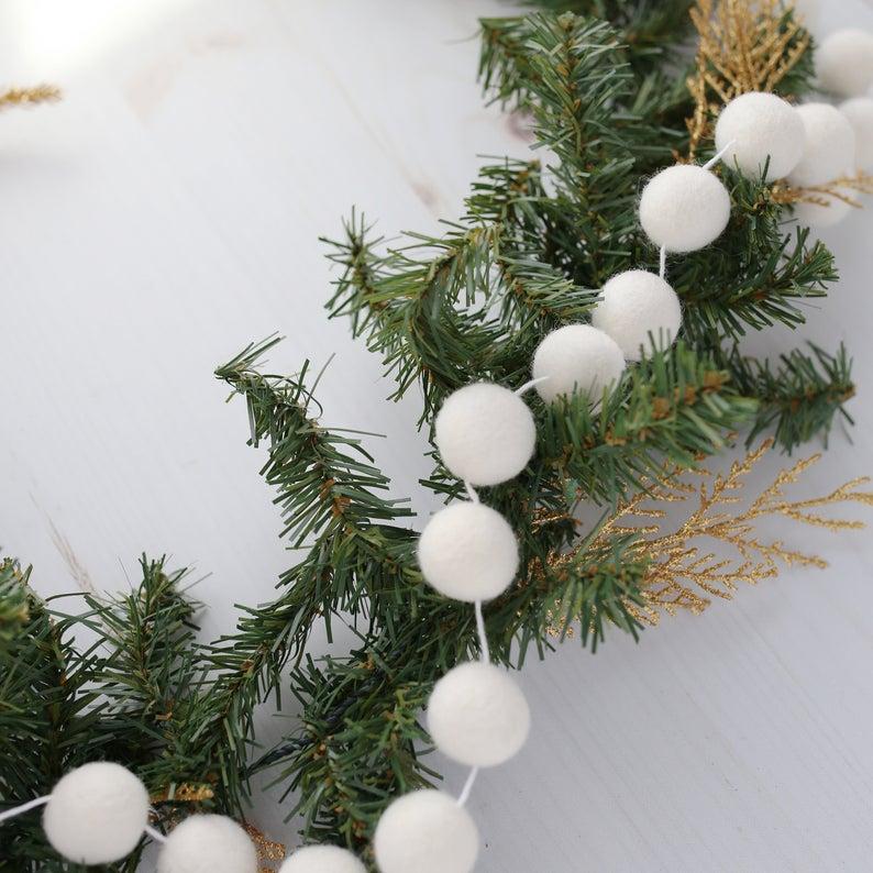 30++ Felt pom pom christmas wreath ideas