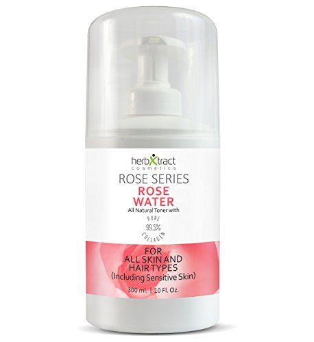 Herbxtract Rose Water Toner From Organic Rose Oil Pur Https Www Amazon Com Dp B01mau73i7 Ref Cm Sw R P Face Moisturizer Rose Water Toner Organic Roses