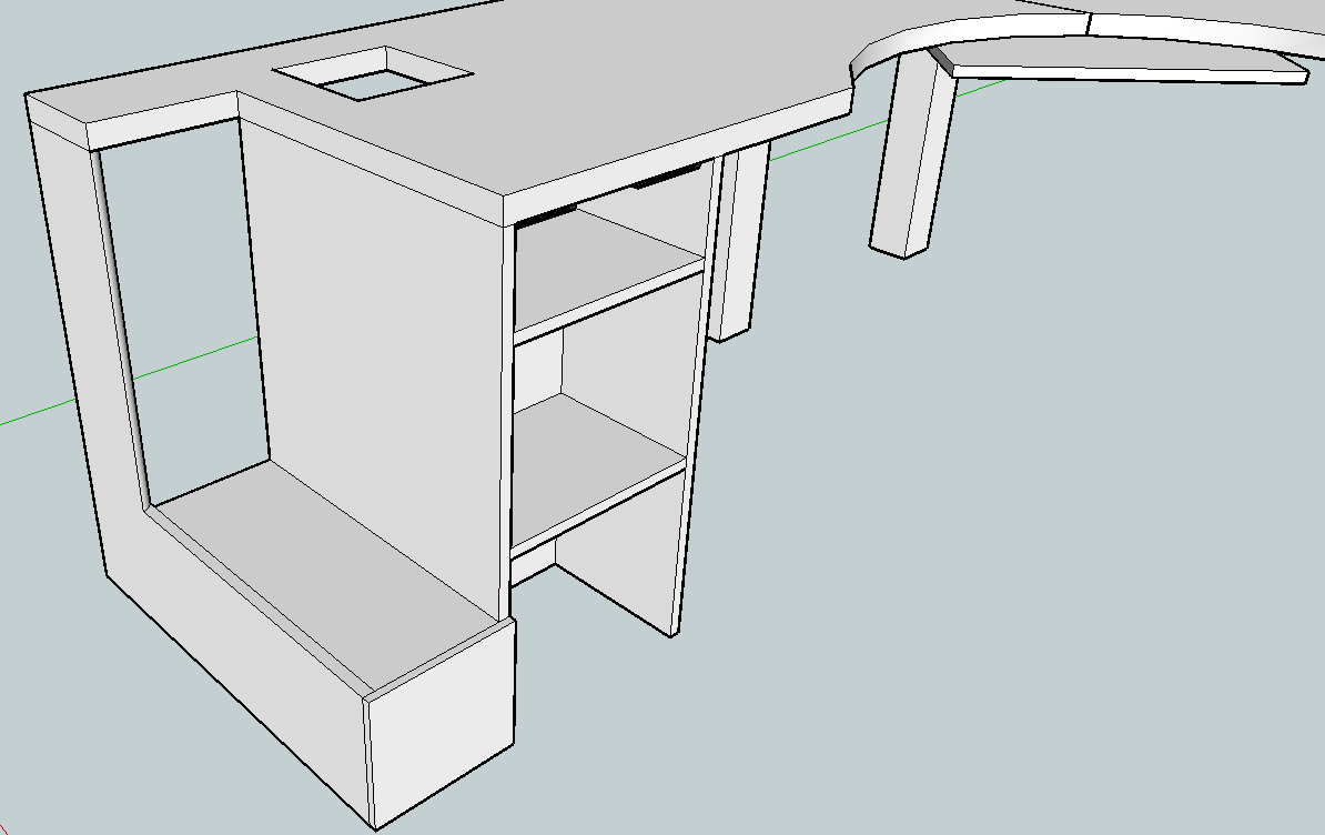 Corner Desk Woodworking Plans