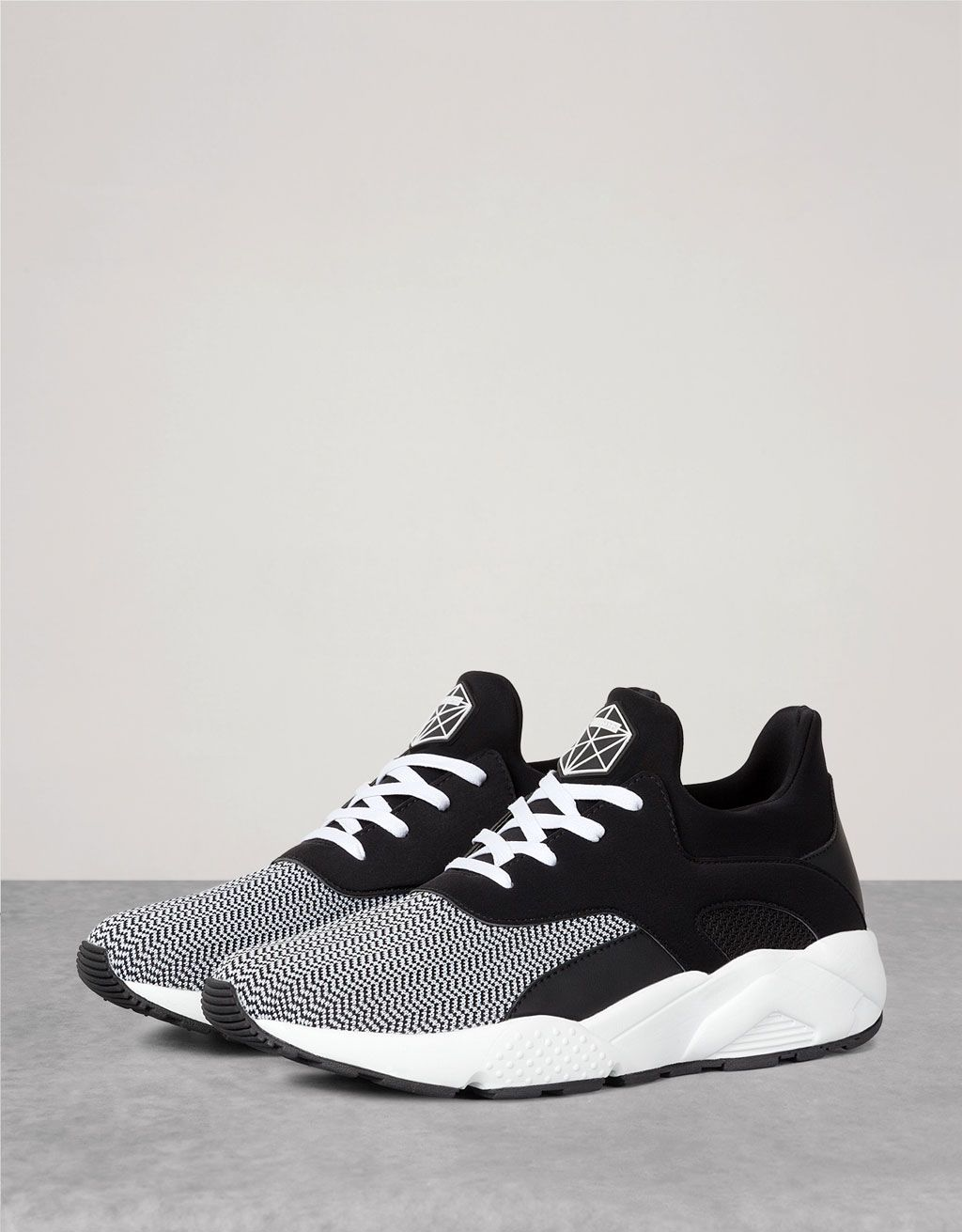 Men's technical combined sport sneakers - View All - Bershka Philippines