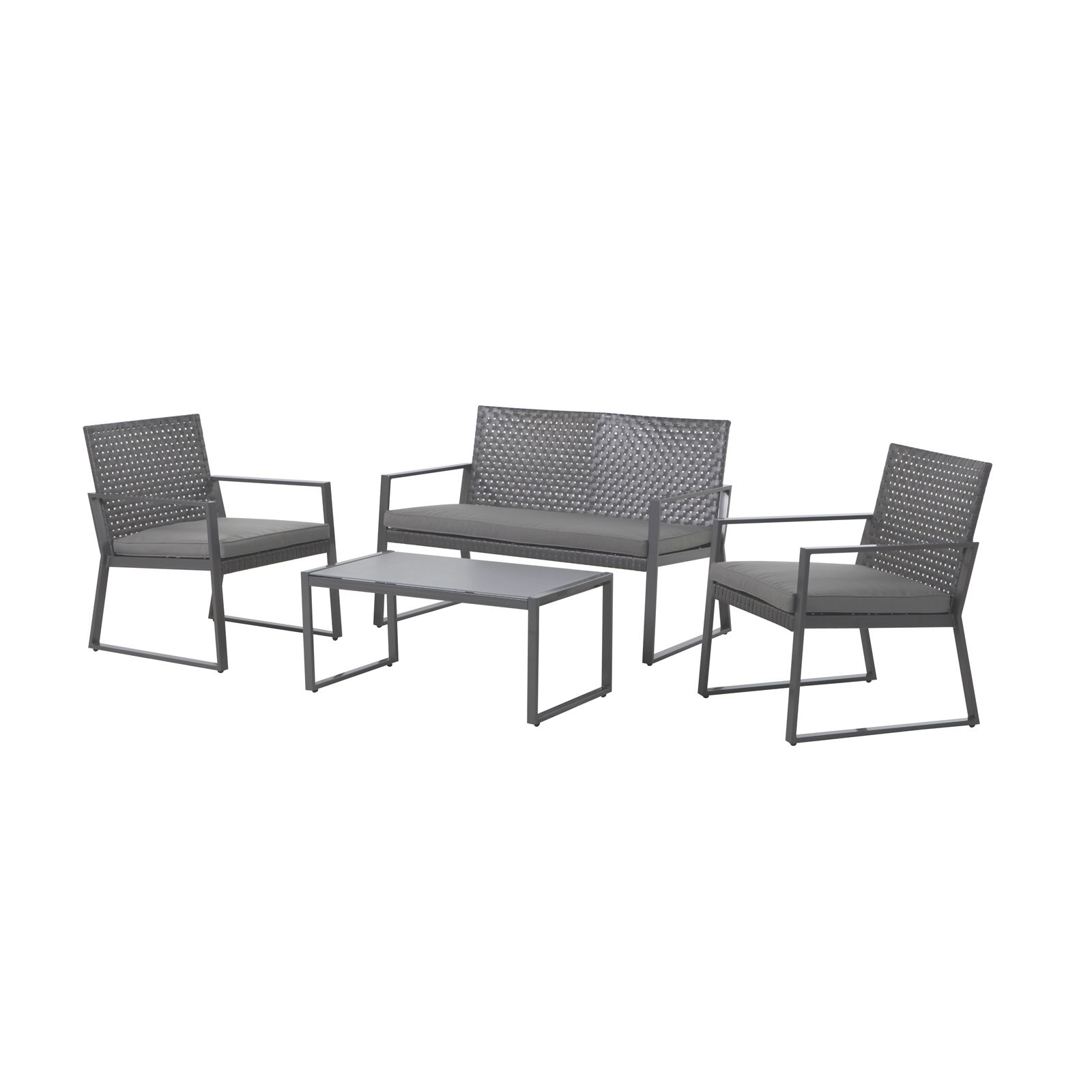 Admirable Find Marquee 4 Piece Silverleaves Lounge Setting At Bunnings Machost Co Dining Chair Design Ideas Machostcouk