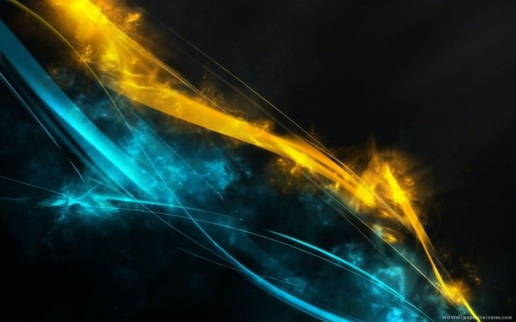 Blue And Yellow Lines Abstract Hd Wallpaper Free Hd Wallpaper Yellow Wallpaper Blue Wallpapers Abstract
