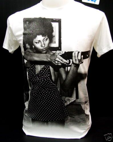 Classic Foxy Brown. Freeze sucka! tee available.