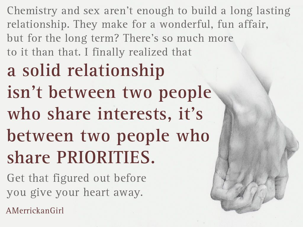 What makes chemistry between two people