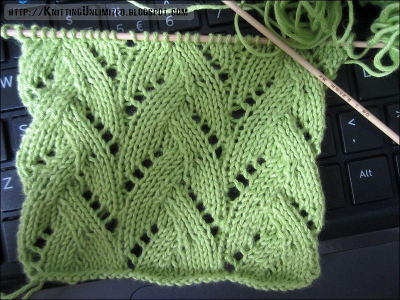 Lace Knitting Pattern 22: Braided Stitch - Knitting Unlimited | X ...