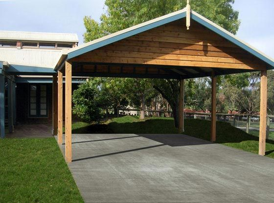 Carports carports melbourne since 1993 melbourne for Double car carport
