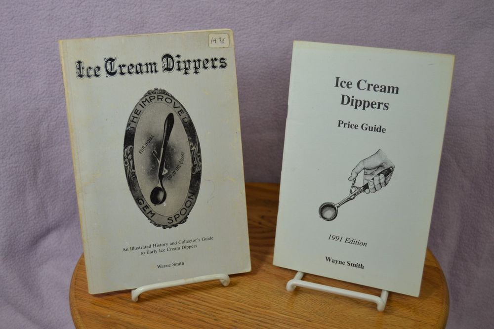 Vintage Ice Cream Dippers Identification and Price Guide Books by ...