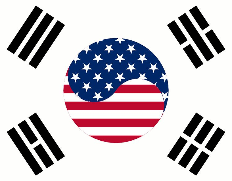 Pin By Tony Kaschalk On Korea Korean Flag Korean American American Flag Tattoo