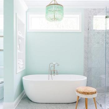 blue green bathroom paint color | green bathroom, blue