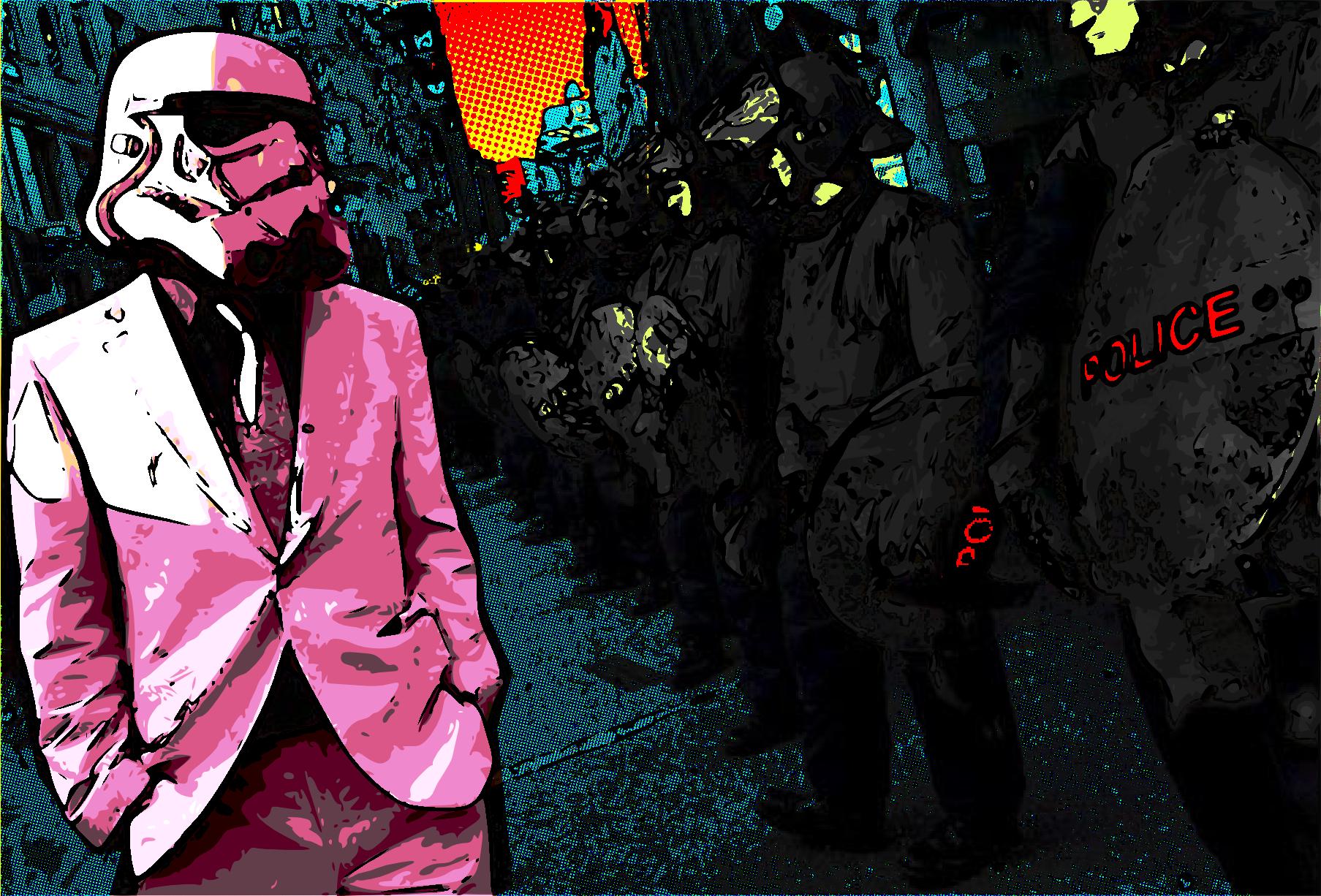 Pink suit stormtrooper wallpaper stormtroopers star - Stormtrooper suit wallpaper ...
