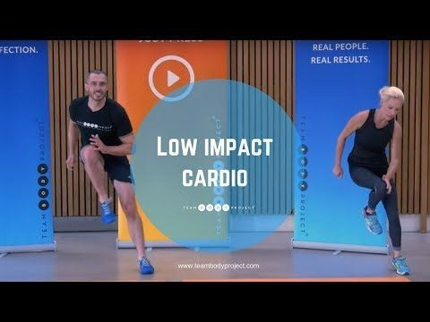 low impact cardio and ab at home workout for beginners