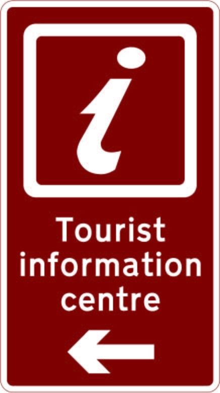 2205 Tourist Information Centre 099 Signs Traffic Road Uk Uk