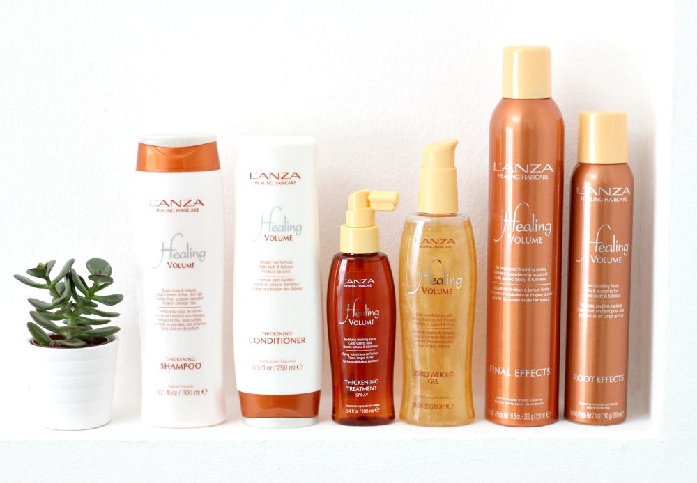 L'anza Healing Volume Collection
