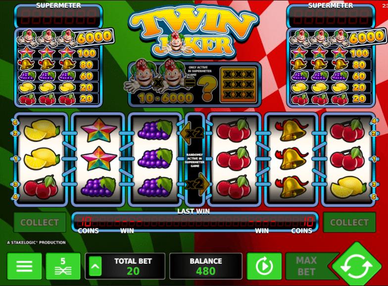 Twin Joker Automat Online Zdarma Klikni a HRAJ ZDARMA