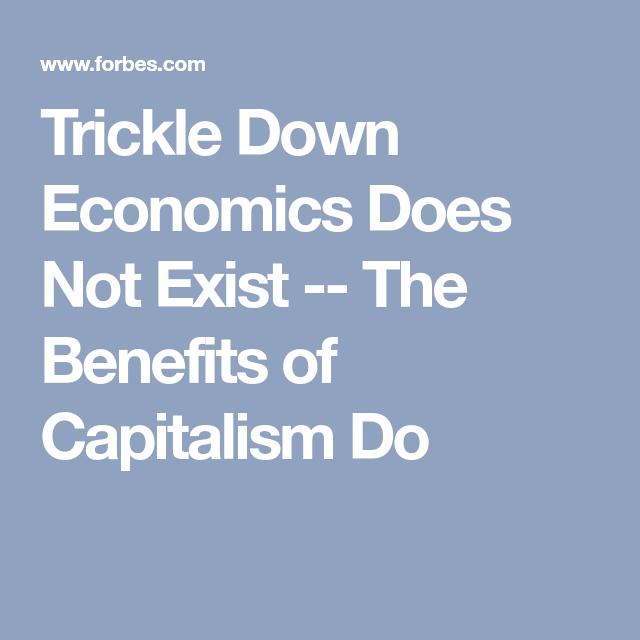 benefits of capitalism