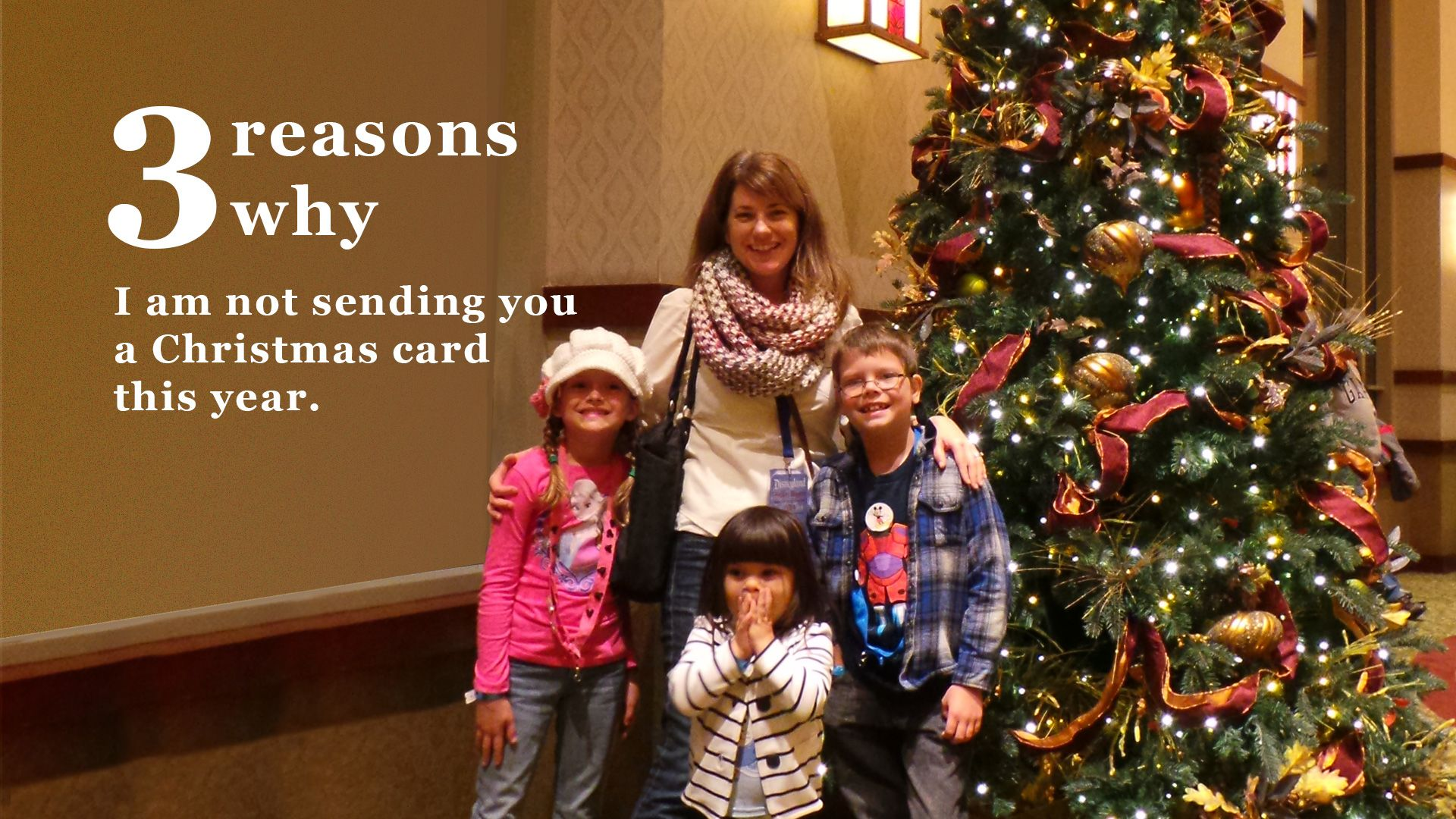 the reasons why i am just not sending out christmas cards this year - When To Send Out Christmas Cards