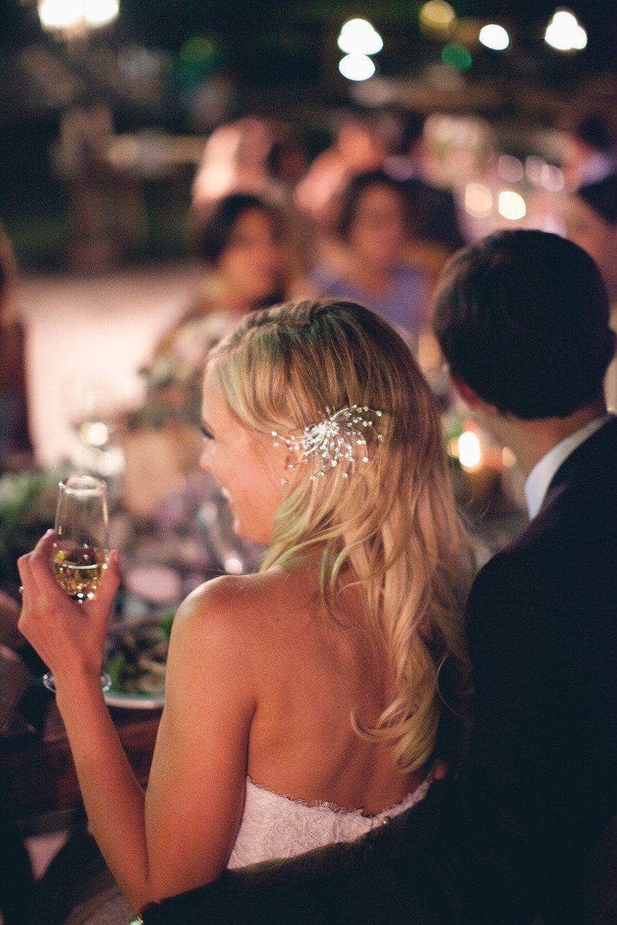 #hair-accessories  Photography: Erin Hearts Court - erinheartscourt.com Flowers: Fiore Designs - fioredesigns.com Event Coordination + Design: Savoir Flair Weddings - savoirflairweddings.com/  Read More: http://stylemepretty.com/2012/02/03/temecula-wedding-by-erin-hearts-court/