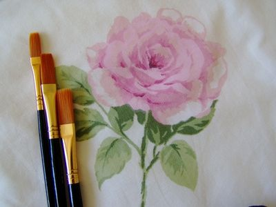 How To Learn To Paint Real Shabby Chic Roses With Images