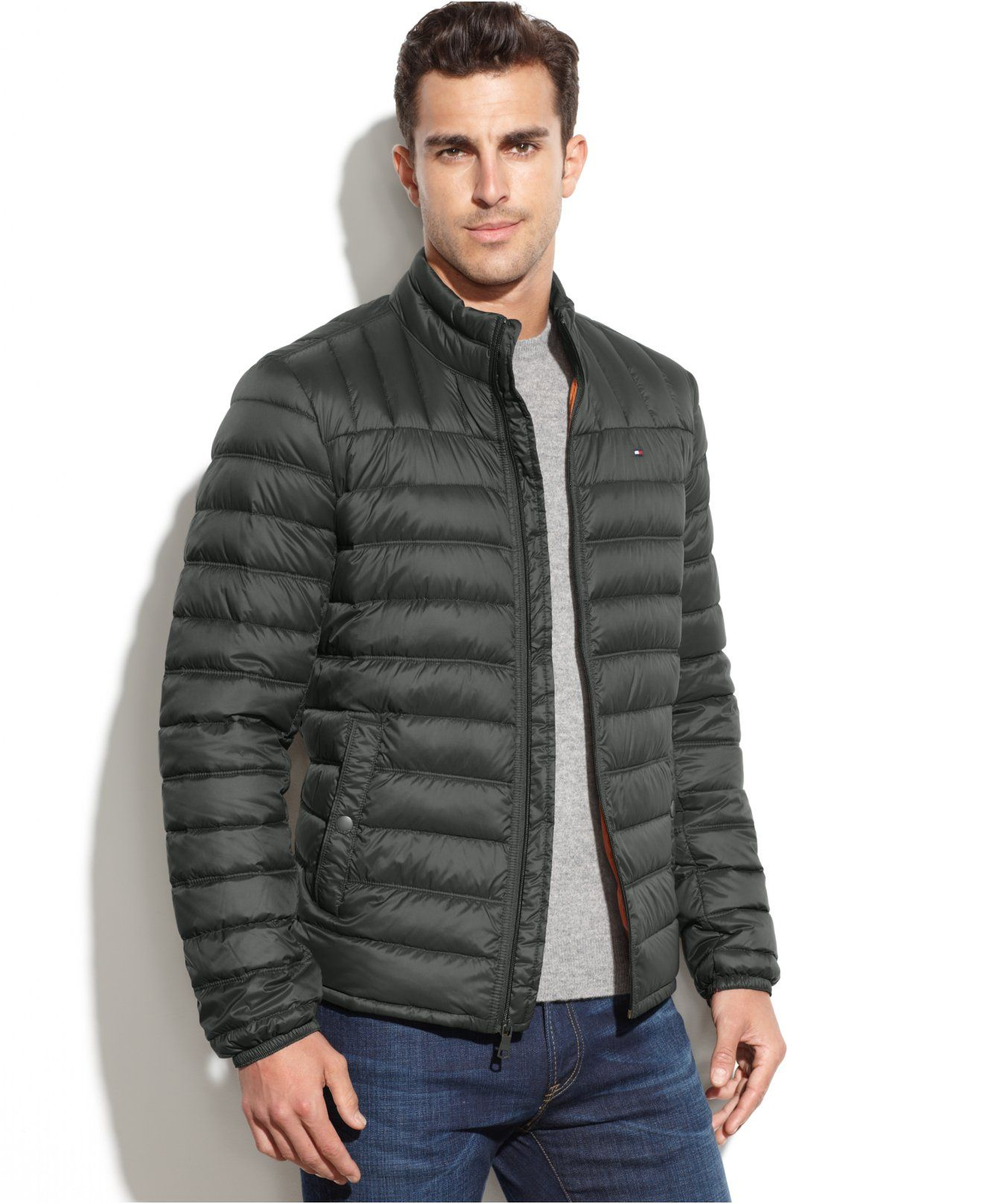 Tommy Hilfiger Quilted Packable Down Puffer Coats Jackets Packable Coat Mens Jackets Tommy Hilfiger [ 1616 x 1320 Pixel ]