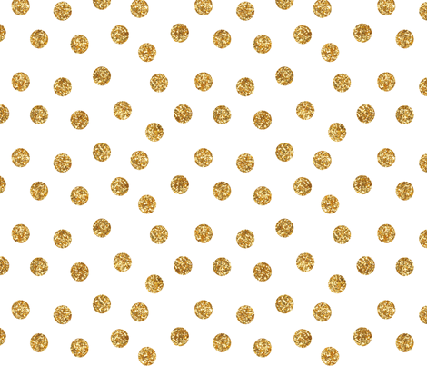 Colorful Fabrics Digitally Printed By Spoonflower Scatter Glitter Dots In Gold Gold Fabric Fabric Spoonflower