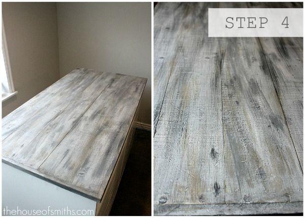 White Wash Wood Signs Diy