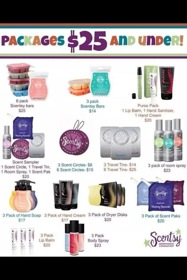 Scentsy! We have many options that fit anyones budget! All amazing producst! Https://chelseawhipple.scentsy.us