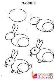 Tavsan Cizimi Ile Ilgili Gorsel Sonucu Drawing For Kids Drawings Step By Step Drawing