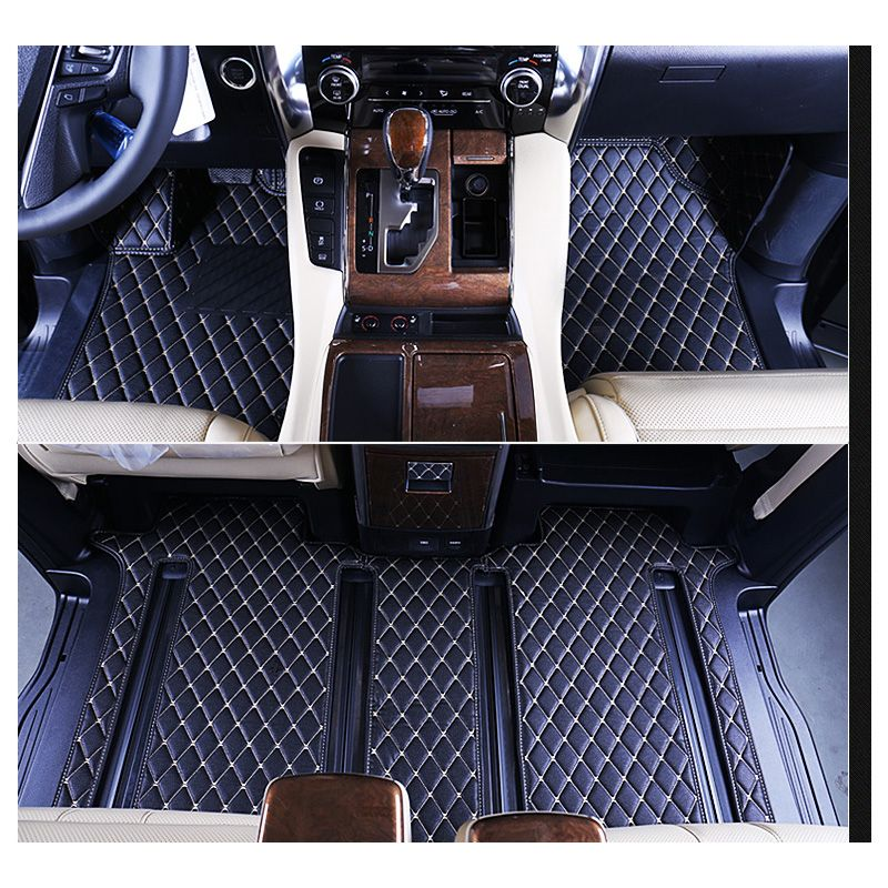 all new vellfire 2015 interior grand veloz vs ertiga dreza car styling fiber leather floor mat for toyota alphard 2016