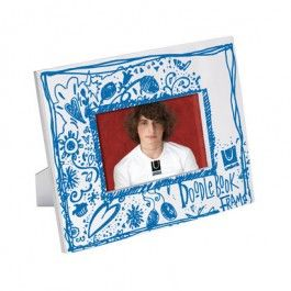 Doodle do. A frame that you can truly make your own. Comes with an 80 page sketching pad and photo opening.
