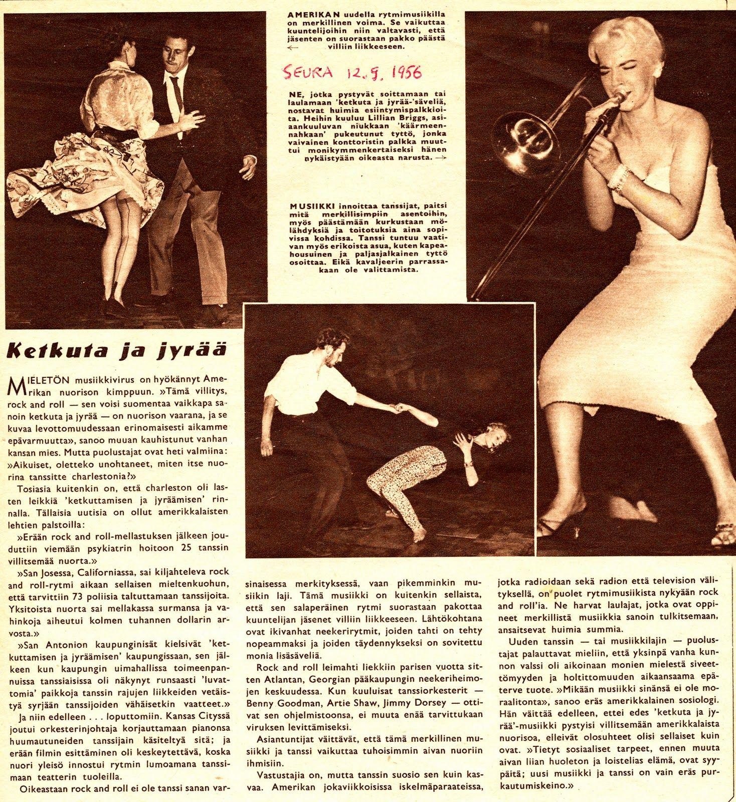 Ketkuta ja jyrää - (Seura) 1956