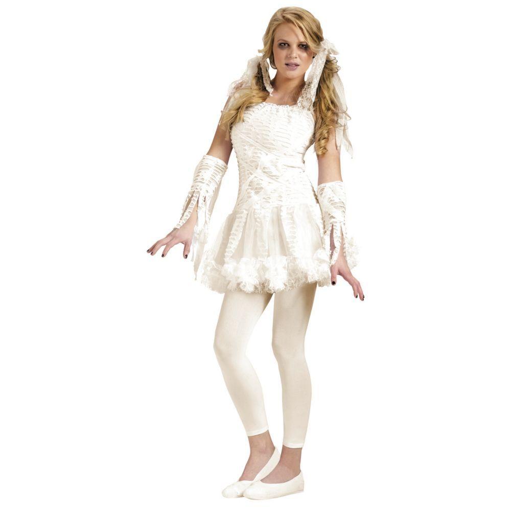 Teen Girlu0027s Tutu Mummy Costume  sc 1 st  Pinterest & Tutu Mummy Teen Halloween Costume for Teen Girl | Teen halloween ...