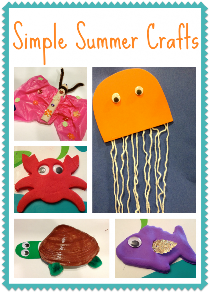 5 Simple Summer Crafts For Kids Birthday Party Ideas Summer