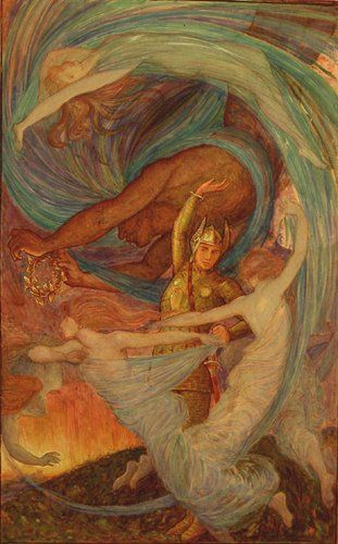 Henry Justice Ford ~ The whirlwind