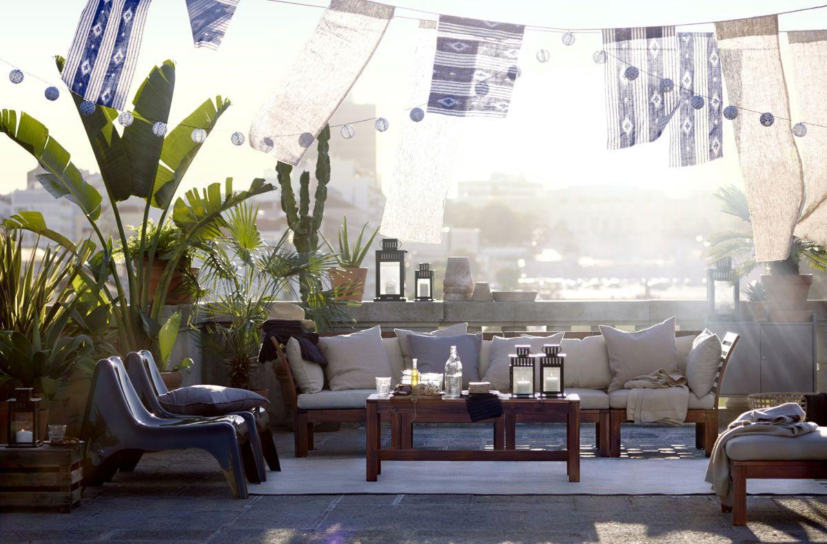 Elegant Ikea Terrasse