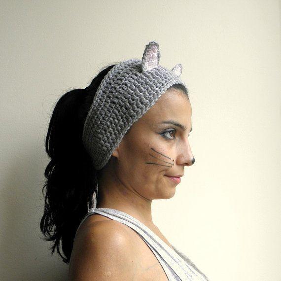Crochet+Costume+Pattern | PDF crochet pattern - headband / earwarmer ...