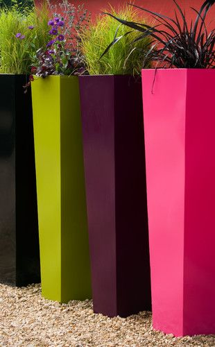 Pin By Summer Boesch On Wedding Tall Planters Tall Outdoor Planters Flower Pots Outdoor