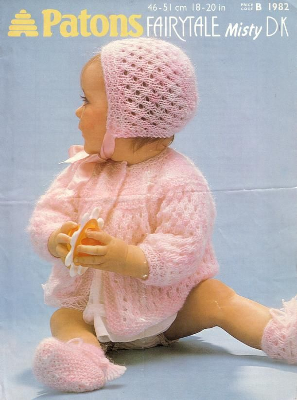 Patons 1982 Best for Baby | Soft | Pinterest | Babies, Baby knitting ...