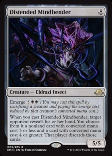 Distended Mindbender X4 Magic The Gathering 4x Eldritch Moon Mtg