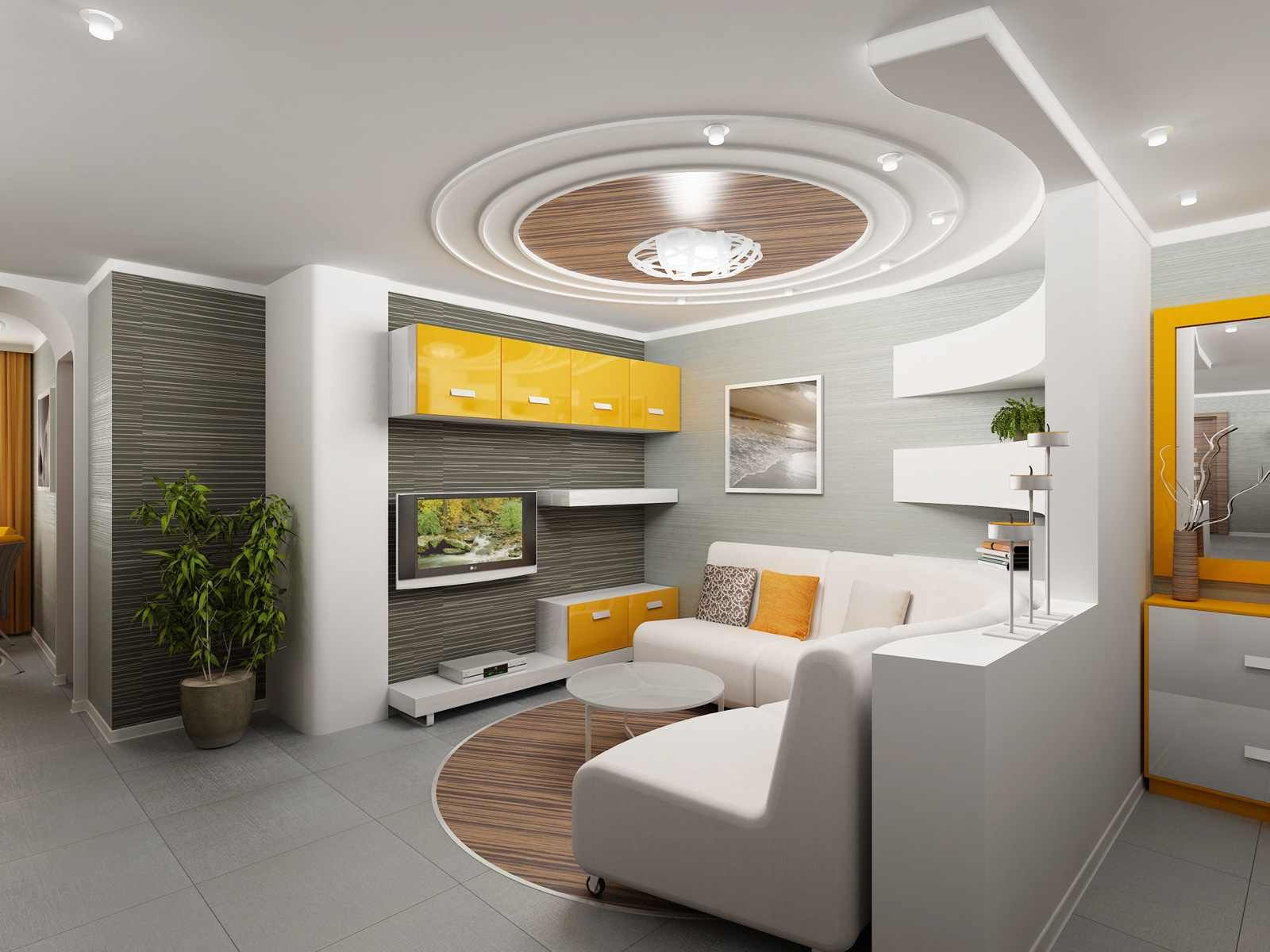 Wellliked White Fall Ceiling Designs For Teenage Master Bedroom - L shaped master bedroom designs