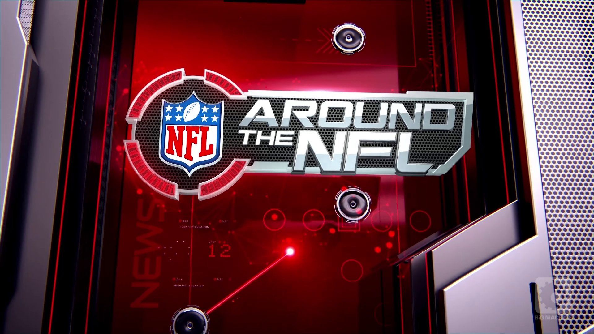 AROUND THE NFL Show Graphics Package Nfl, Nfl logo