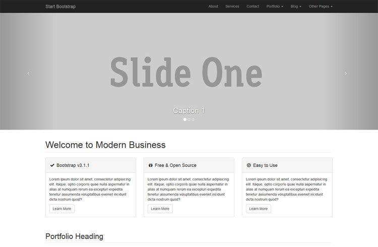 Bootstrap Site Theme Free Modern Theme Has 17 Customizable Pages Basic Website Templates Templates Website Template